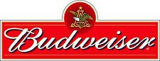"""Budweiser Beer with Eagle Alcohol Bumper sticker, wall decor, vinyl decal, 6""""x2"""""""