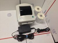 Zebra LP2844 LP 2844 Thermal 500 Label Barcode Printer Shipping Tech Support