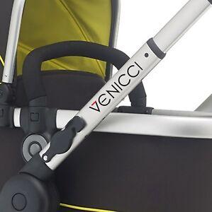 VENICCI Replacement pram logos. Vinyl decal pushchair stroller. Transfer sticker