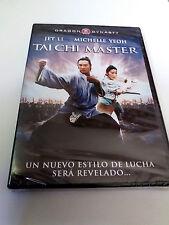 "DVD ""TAI CHI MASTER"" PRECINTADO SEALED JET LI MICHELLE YEOH DRAGON DINASTY YUEN"