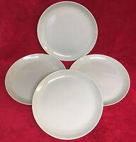 """Set of 4 Crate & Barrel Sage Green 10 3/4"""" Dinner Plates EXCELLENT!"""