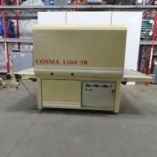 Cosma 130030 Two Head Oscillating 51 Brush Sander Wood Working 480v 3ph