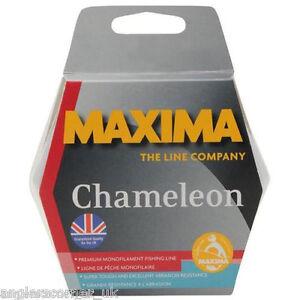 Maxima Chameleon One Shot Filler Spool / All Sizes /  Fishing Line