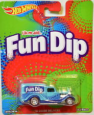 HOT WHEELS POP CULTURE CANDY SERIES FUN DIP '34 DODGE DELIVERY