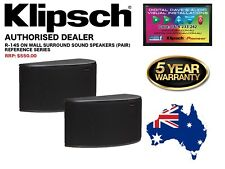 Klipsch R-14S Surround Speakers. 50 Watts RMS / 200 Watts Peak. RRP: $550 (PAIR)