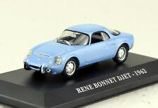 Matra Rene Bonnet Djet blau 1962 1:43 Atlas Modellauto