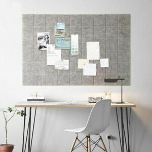 Nordic Style Felt Note Message Board Home Decor Office Planner Schedule Display