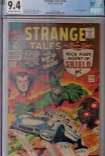 STRANGE TALES #144 (May 1966)  CGC 9.4 (NM)  OWWP  * HIGH GRADE *