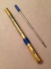 A.T CROSS BLUE INK FINE POINT BALLPOINT REFILL-IRELAND-NEW OLD STOCK.