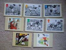 postcard bobby moore whu west ham england football legends series