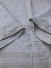 Vintage Quilt Blanket With Floral Design Reversible 233cm by 245cm