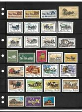 Worldwide: Stagecoach; Lot of stamps MNH, Thematic: horses, EBWW063