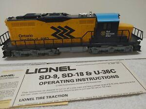 LIONEL # 6- 8162/63 O N SD-18 POWERED & DUMMY