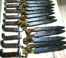 Soviet Rus SHEATH 6x2 metal scabbard plus handle early veersion NO BLADE!!