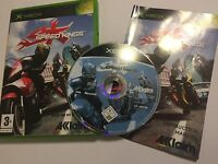 ORIGINAL XBOX RACE RACING GAME SPEED KINGS +BOX & INSTRUCTIONS COMPLETE PAL