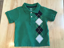 Baby Gymboree Boy Cotton T-Shirt Top 18-24 Month Green