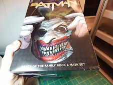 """DC Comics Batman """"Death of the Family Joker Scary Clown Mask"""" New without Book"""