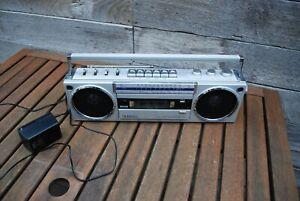 vintage sanyo m7750k cassette radio