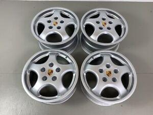 Porsche 964 17 Zoll Cup I 964 Felgen Räder 7,5 J+9,5 J Topzustand 96536212805
