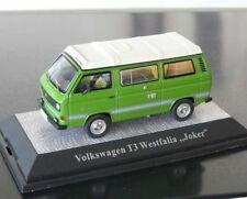 + VOLKSWAGEN VW T3 a Bus Joker grün 1:43 mit Aufstelldach Premium Classixxs  neu