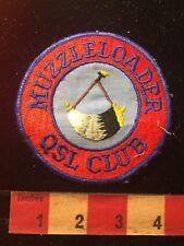 Vintage MUZZLELOADER QSL CLUB Amateur Radio Patch 81D2