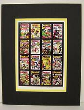 "Gerber""s Photo-Journal Guide to Comics Press Proof Ltd. Edn. AVENGERS #s 1-16"