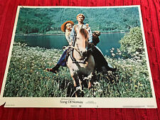 Song Of Norway 1970 ABC Cinerama musical lobby card