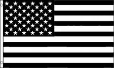 Black & White United States Flag 3x5 ft USA US BW B&W American America Tactical