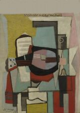 The Guitar, 1919, PICASSO, Cubism, Surrealism, Expressionism Art Poster