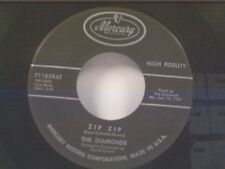 "DIAMONDS ""ZIP ZIP / OH HOW I WISH"" 45"