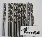 PUNTE PER TRAPANO ACCIAIO TITANIO COBALTO per metallo set 5 pz 10 mm farneed