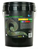 Quantum Mixed Macro Probiotic Salt 22kg Bucket Marine Reef Aquarium Fish Tank