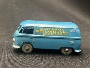 Lesney Matchbox #34 International Express Volkswagen Bus - Vintage No Reserve