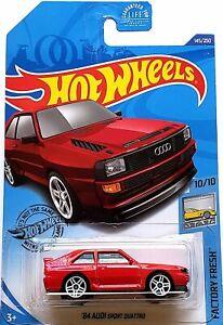 2020 Hot Wheels Mainline #145 - 1984 Audi Sport Quattro (Red) GHC03