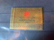 Briefmarken Schweiz Pro Juventute Heftchen 1957 postfrisch SFR 200 zumstein