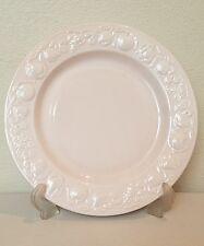 "FRANCO GIORGI by QUADRIFOGLIO 10 3/8"" Pink Dinner Plate Made in Italy"