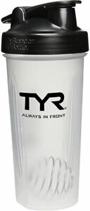 TYR Blender Water Bottle Clear 28oz BPA and Phthalate Free Plastic Non-Bike