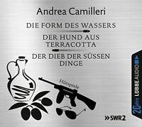 ANDREA CAMILLERI - DIE FORM DES WASSERS/DER DIEB DER SÜßEN DINGE/ 6 CD NEU