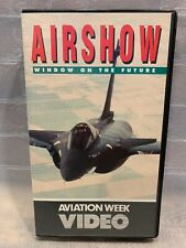 Airshow Window on the Future Aviation Week VHS Tape