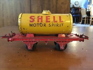ROBILT SHELL MOTOR SPIRIT TANKER. Yellow / Red.