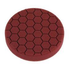 "6"" Velcro Backed Hexagon Foam Polish Pad - Heavy Polishing With Orbital Sander"
