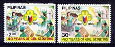 Philippines 1980 MNH 2v, Scouts, Girls Guides