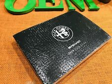 2019 Alfa Romeo Stelvio Owners Manual User Guide (New Set) Ti Awd Quadrifoglio