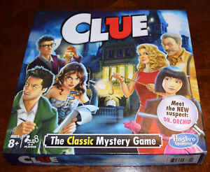 Clue The Classic Mystery Board Game Replacement Parts & Pieces 2015 2018 Orchid