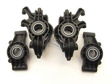 X-MAXX Front Rear Hub Carriers Caster Steering Blocks & Bearings Traxxas 77086-4
