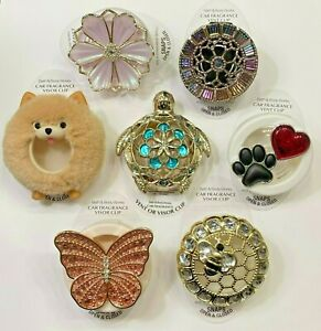BBW VENT VISOR CLIPS Bee Butterfly Paw Heart Jewel - You Choose!! Free Ship!