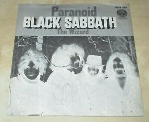"""Single ( 7"""" ) Black Sabbath - Paranoid ( 1970 ) Vertigo - 6059 010 - SWIRL"""