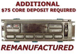 REMAN 97 98 Lincoln MARK 8 VIII A/C Temp Heater Climate Control EATC >EXCHANGE<