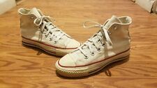 Vintage Converse Chuck Taylor All Star Made In USA Sneakers White Size 4