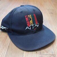 Shaq Attaq Vintage Snapback Hat Reebok Black red Green Yellow 32 90s Cap